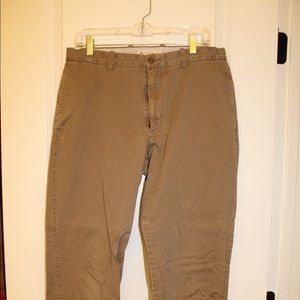 J Crew Dark Khaki Pants